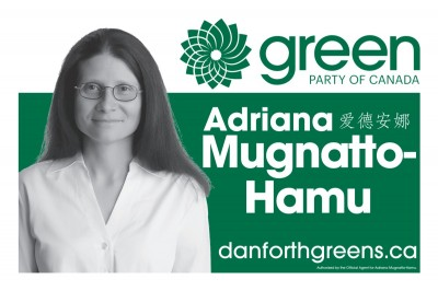 Toronto-Danforth candidate lawn sign (small)
