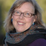 Elizabeth May in a scarf