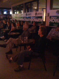 Crowd at Laugh till You're Green