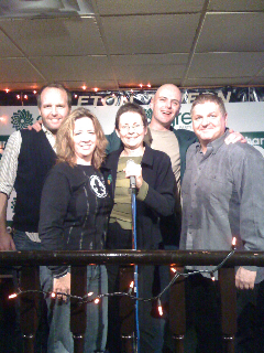 Sharon Howarth and comedians