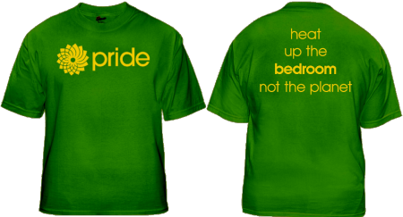 Toronto-Danforth Green Party Gay Pride T-Shirt