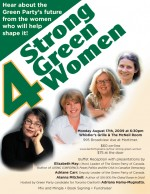 Four Strong Green Women poster