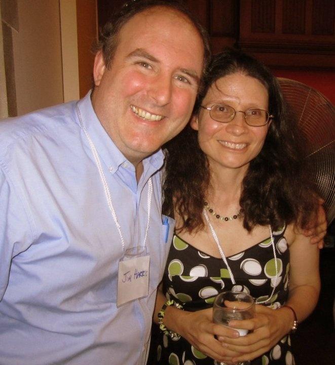 Jim Harris and Adriana Mugnatto-Hamu