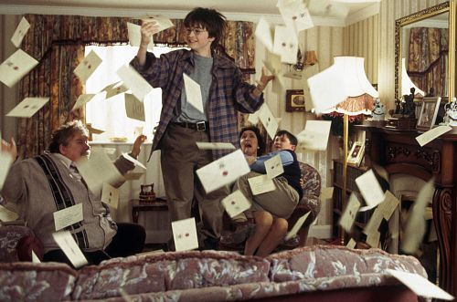 Harry Potter: letters from Hogwarts