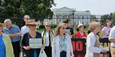 Tar Sands Action at Whitehouse
