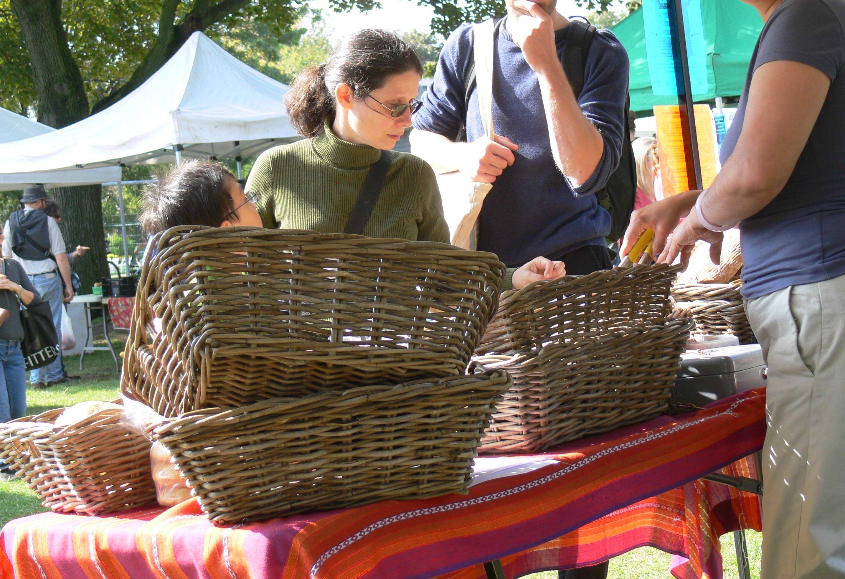 Adriana Mugnatto-Hamu at Withrow Park farmers' market