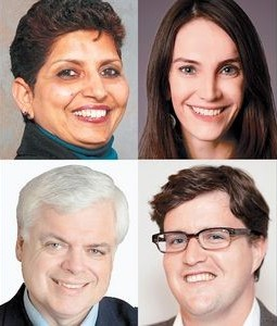 Photos of Toronto-Danforth candidates