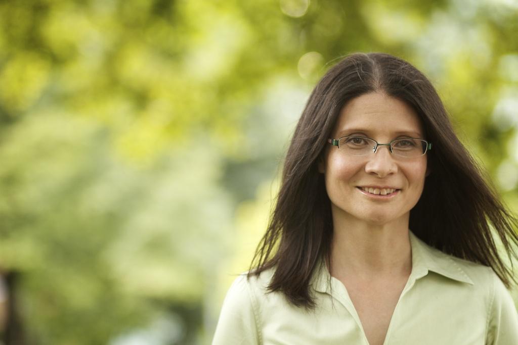 By-election candidate Adriana Mugnatto-Hamu green leaves