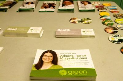 Adriana Mugnatto-Hamu campaign literature