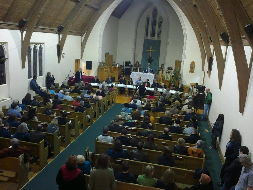 All candidates debate at Don Mills Church