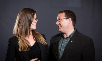 Rachel Power and Mike Schreiner see eye-to-eye